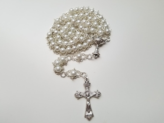Girls First Communion Ladder Rosary