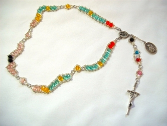 Our Lady of Guadalupe Ladder Rosary