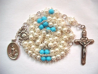 Our Lady of Lourdes Ladder Rosary