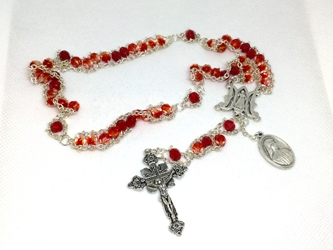 The Divine Mercy Variegated Ladder Rosary
