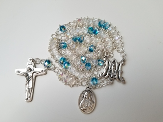 The Immaculate Heart Ladder Rosary