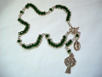 The St. Patrick Irish Ladder Rosary