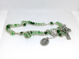 The St. Patrick Irish Variegated Ladder Rosary